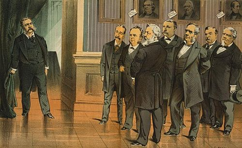 Chester A. Arthur Becomes President