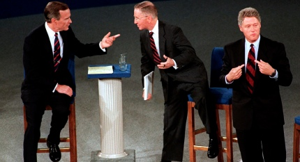 George H.W. Bush, Ross Perot, Bill Clinton