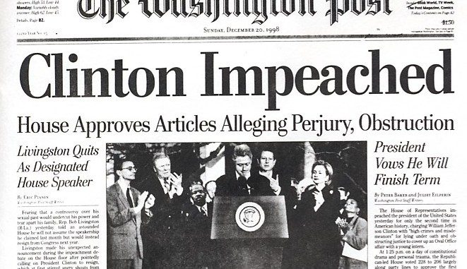 A Brief History of Impeachment