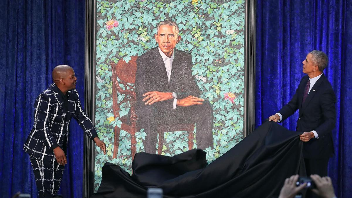 Please Pose, Mr. President: A Brief History of Presidential Portraits