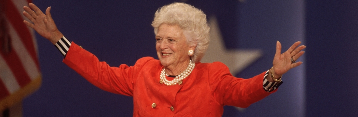 First Lady Feature: Barbara Bush