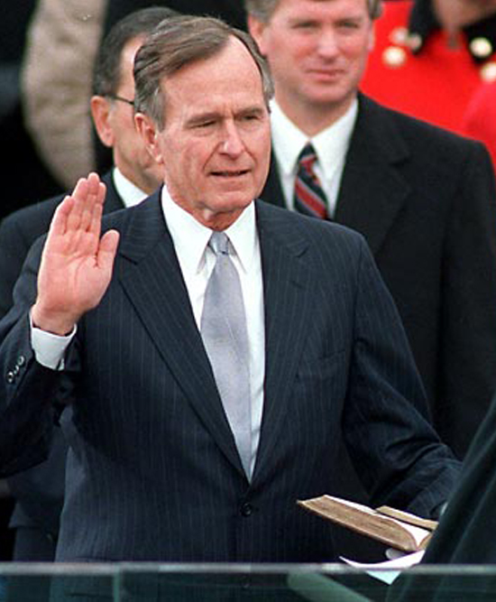 george-h-w-bush-swearing-in-1