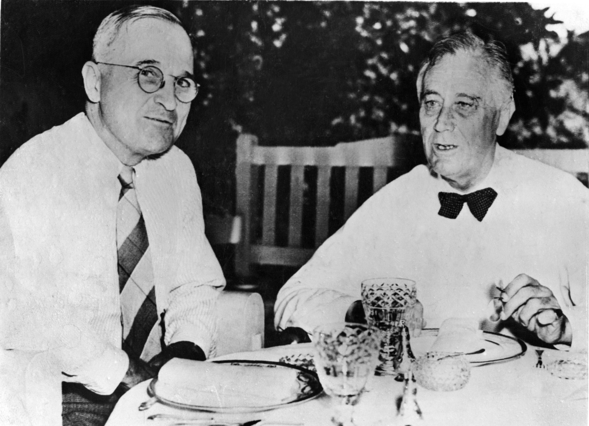 Truman, Roosevelt, and the Day that Changed History