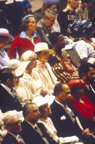 Royal wedding 1981 - Nancy Reagan