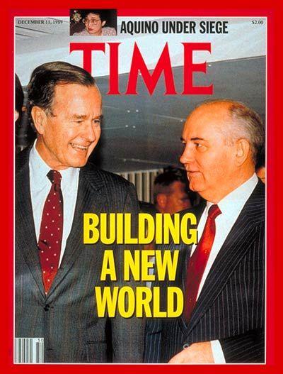 bush and gorbachev TIME