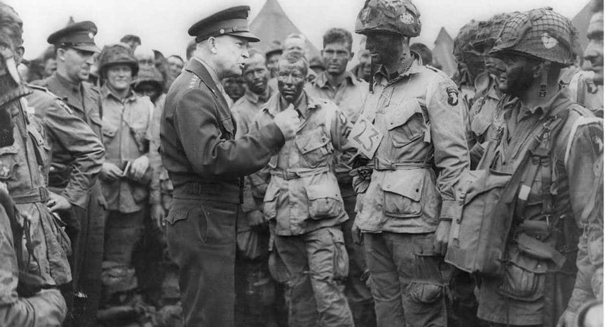 Eisenhower, D-Day, and the Two Notes