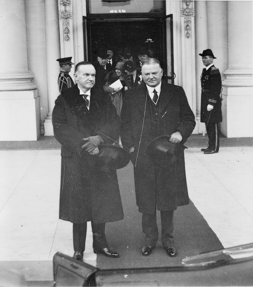 Coolidge and Hoover