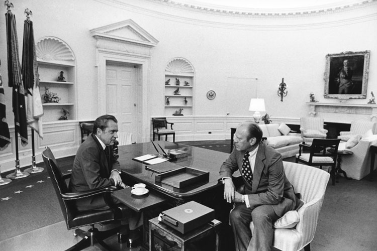 When Gerald Ford Pardoned Richard Nixon